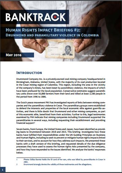 Human Rights Impact Briefing #2 front page