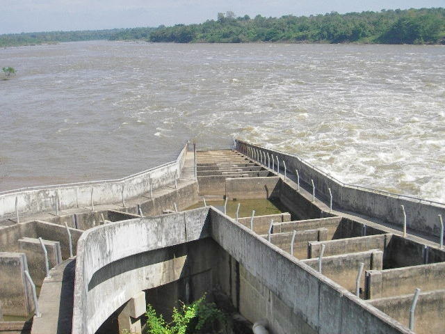 Pak Mun dam's failed fish pass structure