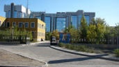 Agip KCO headquarters in Atyrau