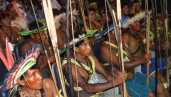 Indigenous people in event to public discuss the project