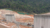 Nam Theun 2 dam site, March 2007