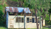 sbinosawan school damaged by typhone