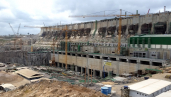 Belo Monte dam construction site Sept 2015