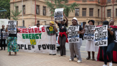 Protest against Thabametsi project 1