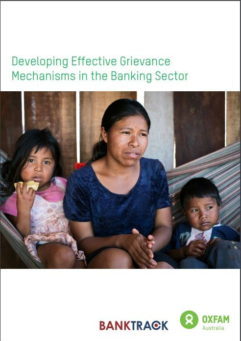 Developing Effective Grievance Mechanisms, cover