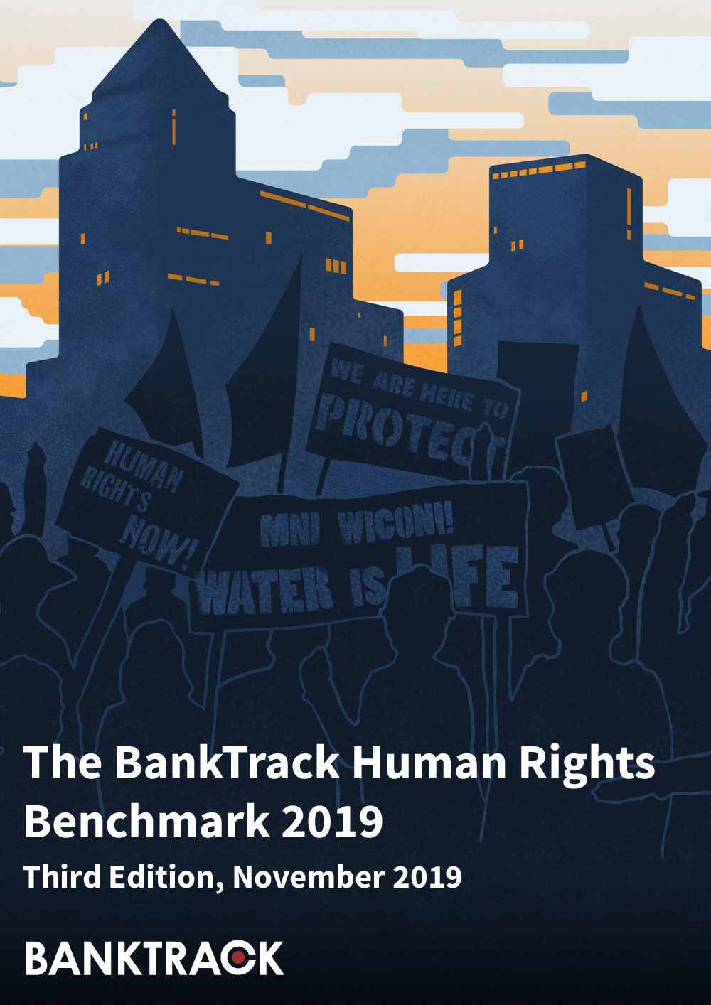 BankTrack Human Rights Benchmark 2019 front cover