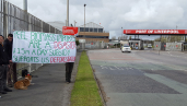 Protest against the Drax power station