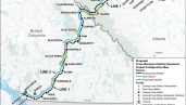 Trans Mountain Pipeline route