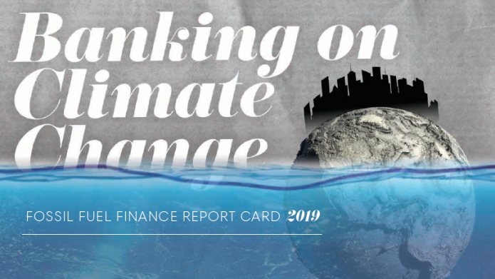BankTrack – Banking on Climate Change – Fossil Fuel Finance