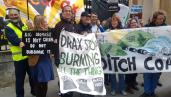 Protest against Drax power station